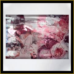 Дэвид Остин с металлической текстурой